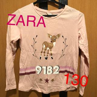 ザラキッズ(ZARA KIDS)のzara kids 130 ロンT バンビ(Tシャツ/カットソー)