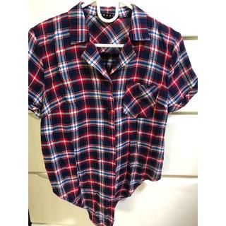 イング(INGNI)の美品 イング チェックシャツ(シャツ/ブラウス(半袖/袖なし))