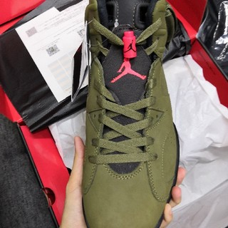 NIKE - NIKE TRAVIS SCOTT AIR JORDAN6 29cm
