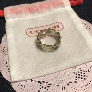 コーチ(COACH)のCOACH ハートモチーフ♡リング(リング(指輪))