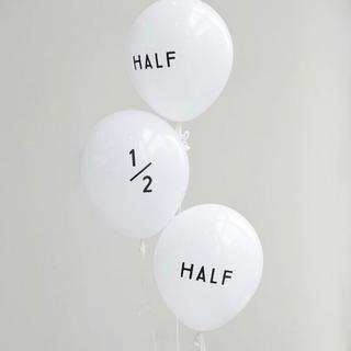 ハーフバースデー 風船 half birthday バルーン