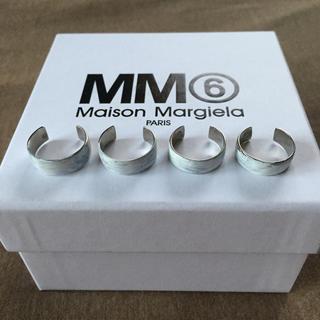 Maison Martin Margiela - M新品 マルジェラ MM6 4連リング シルバー 18SS
