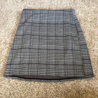 H&M -  H&M 千鳥柄ミニスカート