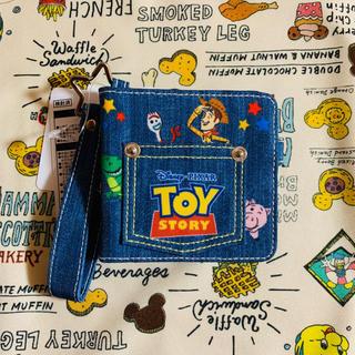 トイストーリー(トイ・ストーリー)のディズニー ファンタイム ウィズ トイストーリー パスケース コインケース付(パスケース/IDカードホルダー)