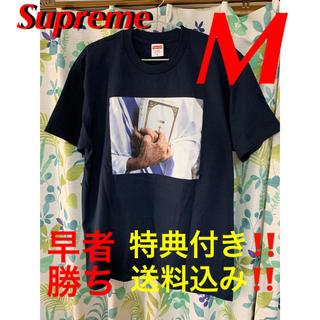 Supreme - 【特典付き★送料込み‼️】supreme Bible Tee ネイビー M