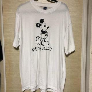 【mickey】カリフォルニアTシャツ(Tシャツ(半袖/袖なし))