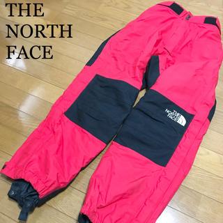 ザノースフェイス(THE NORTH FACE)の90s ノースフェイス ゴアテックスパンツ メンズM 赤 黒 スノーボード 登山(ウエア/装備)