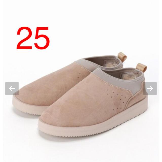L'Appartement DEUXIEME CLASSE(アパルトモンドゥーズィエムクラス)の新品 SUICOKE スイコック ムートンサボ 25 レディースの靴/シューズ(スリッポン/モカシン)の商品写真