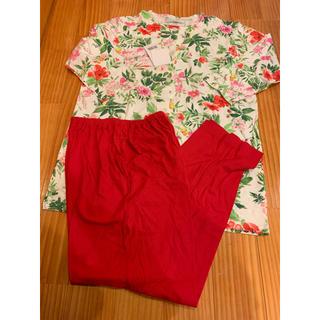 《新品》花柄パジャマ