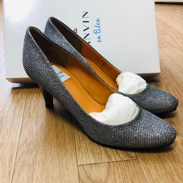 LANVIN en Bleu(ランバンオンブルー)のLANVIN パンプス レディースの靴/シューズ(ハイヒール/パンプス)の商品写真