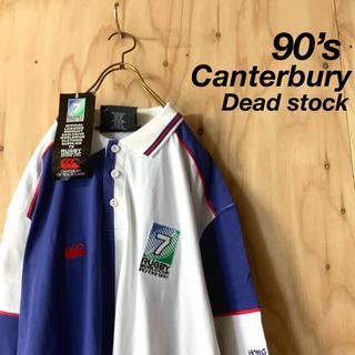 CANTERBURY - 【激レア 新品 タグ付】90s カンタベリー 1997年 ラグビーW杯限定 XL
