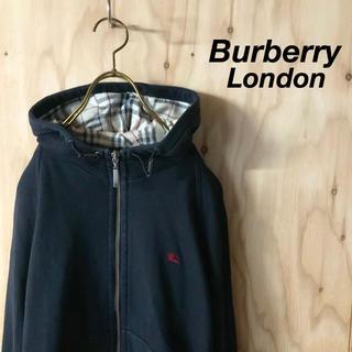 バーバリー(BURBERRY)のBurberry London ノバチェック フーディパーカー BK RD(パーカー)