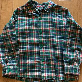 ミキハウス(mikihouse)のミキハウス  チェックシャツ 100(ブラウス)