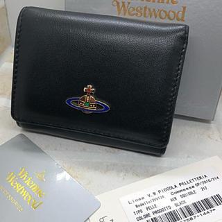 Vivienne Westwood - Vivienne Westwood コンパクト 三つ折り 財布 黒 新品未使用
