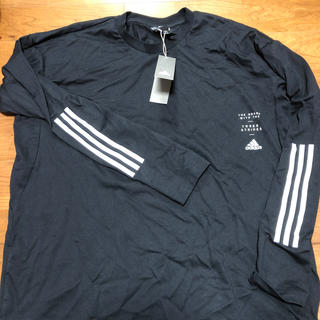 adidas - 新品 タグ付 アディダス adidas 長袖シャツ 長袖Tシャツ ロンT 3xo