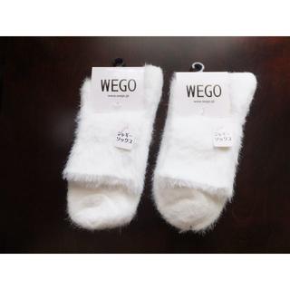 WEGOソックス2足●靴下●ウィゴーレディース