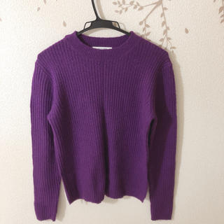 LOWRYS FARM - ローリーズファーム 紫ニット