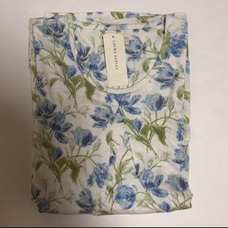 新品 ローラアシュレイ  パジャマ ルームウェア 花柄 L ダク付き
