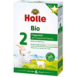 Holleホレ オーガニック粉ミルク2(ヤギ)6か月以降〜36か月頃