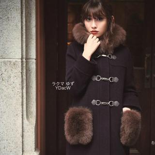 Rirandture - ♡新品未使用タグ付♡リランドチュール♡ポケットファーダッフルコート♡ネイビー