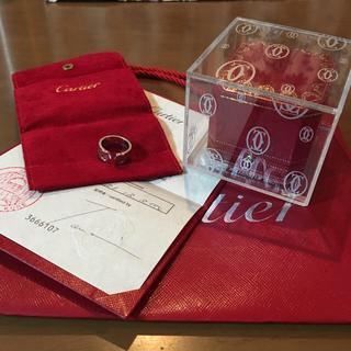 カルティエ(Cartier)のカルティエ ミレニアム クリスマス限定 リング(リング(指輪))