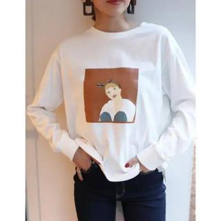 MURUA - 【MURUA】ロングTシャツ 今季 ホワイト
