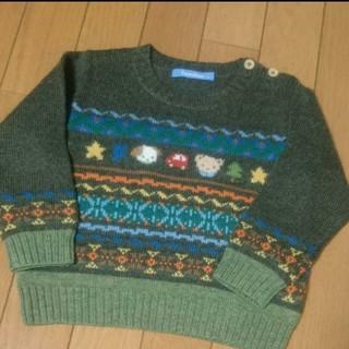 未使用 ファミリア ニットセーター