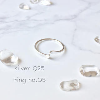 ring No.05♡silver925 ひねりリング(リング(指輪))