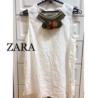 ザラ(ZARA)のZARA ザラ トップス(シャツ/ブラウス(半袖/袖なし))