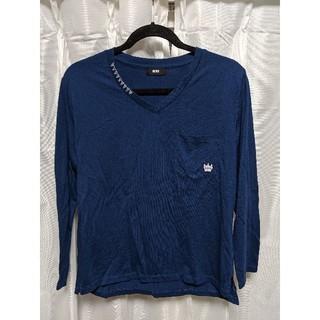 ロデオクラウンズワイドボウル(RODEO CROWNS WIDE BOWL)のRCWB VネックロンT(Tシャツ(長袖/七分))