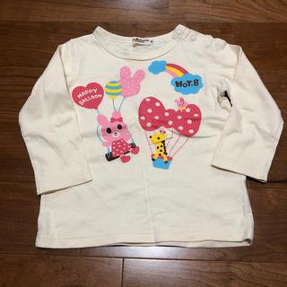 HOT BISCUITS - ミキハウス ホトビ ロンT 長袖シャツ Tシャツ バックプリントあり 90 美品