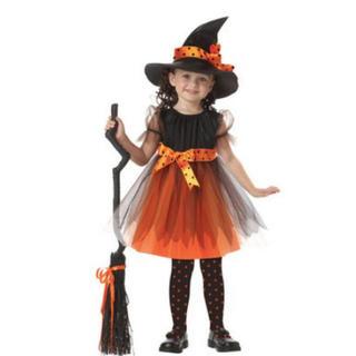ハロウィン コスプレ 女の子 魔女 ドレス 衣装 ハロウィーン 仮装 変装(ワンピース)