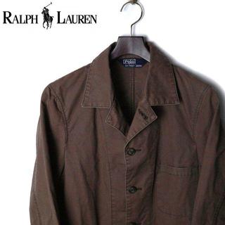 ポロラルフローレン(POLO RALPH LAUREN)のポロ ラルフローレン ダック地 コットン ワークジャケット(ステンカラーコート)
