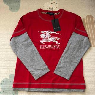 BURBERRY - 未使用 バーバリー  長袖 120cm