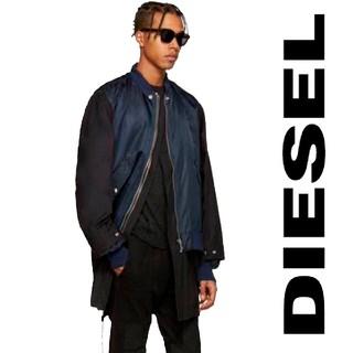 DIESEL - DIESEL ドッキングコート ブルゾン 斬新 ビッグシルエット