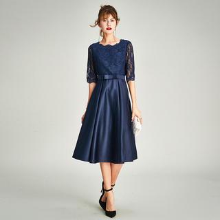 *sale* 刺繍 ドレス パーティードレス ワンピース 結婚式 二次会