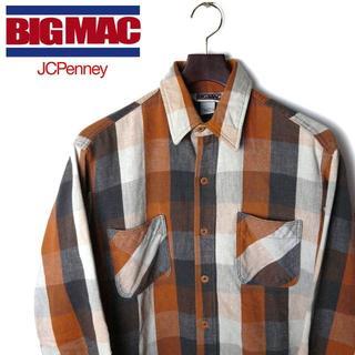 ポロラルフローレン(POLO RALPH LAUREN)の【USA製】80s BIC MAC ビンテージ チェック ネルシャツ(シャツ)