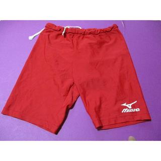 MIZUNO - ミズノ 真っ赤な競泳水着 サイズL (560)