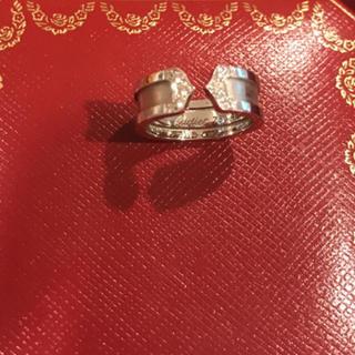 カルティエ(Cartier)のカルティエ リング 2Cダイヤ(リング(指輪))