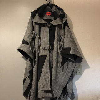 Vivienne Westwood - Red Label blanket wool cape