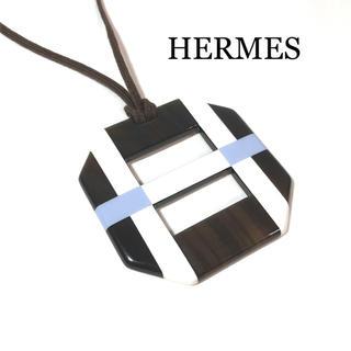 エルメス(Hermes)のエルメス ネックレス チョーカー バッファローホーン オプス オクトゴナル(ネックレス)
