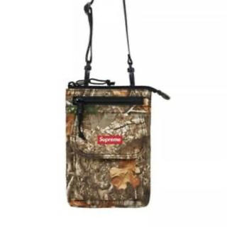 19AW Supreme Shoulder Bag Real Tree Camo