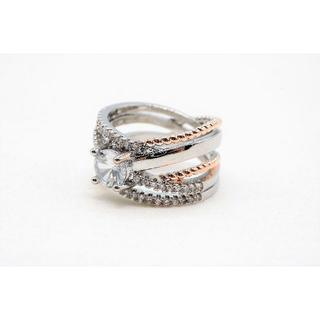 【E-165】新品 スターリングシルバー 925 キュービックジルコニア 指輪(リング(指輪))
