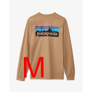 パタゴニア(patagonia)の【新品タグ付】パタゴニア ロングスリーブ P-6ロゴ レスポンシビリティー M(Tシャツ/カットソー(七分/長袖))