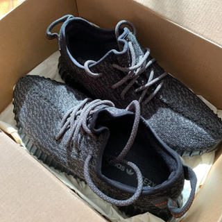 adidas - yeezy boost 350 pirates black 27.5