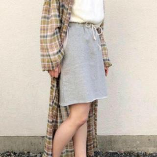 カスタネ(Kastane)の新品タグ付き 完売商品 スウェット スカート(ひざ丈スカート)