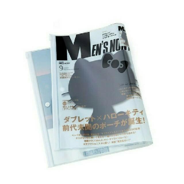ハローキティ(ハローキティ)のメンズノンノ Hello Kitty×スライダーポーチ レディースのファッション小物(ポーチ)の商品写真