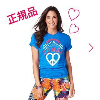 ズンバ(Zumba)のzumba ウェア ブルー(その他)