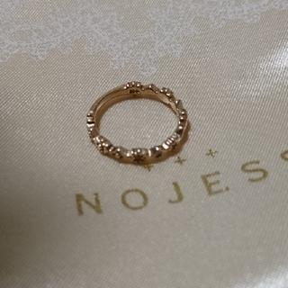 ノジェス(NOJESS)のノジェス⭐ピンキーリング☆お値下げ不可(リング(指輪))