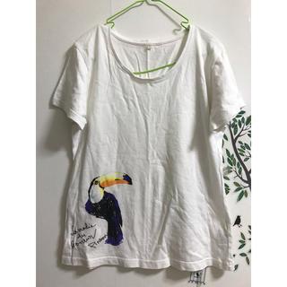ベルメゾン(ベルメゾン)のカラフルペリカンTシャツ(Tシャツ(半袖/袖なし))